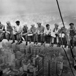 """2 """"Lunch in the Sky"""" - anonimo"""
