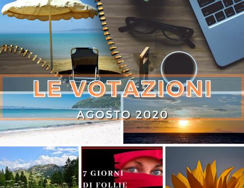 Agosto 2020 le votazioni