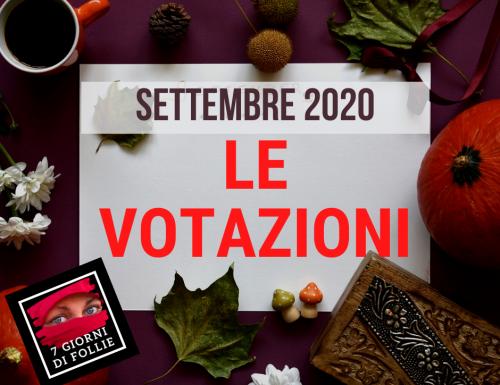 Si aprono le votazioni di settembre
